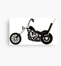 Cruiser Motorbike Canvas Print