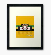 Formula 1 - Ayrton Senna - McLaren MP4/8 Framed Print