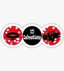 101 Dalmatians (logo) Sticker