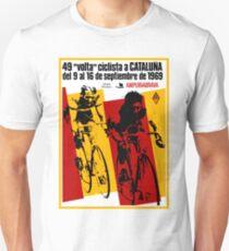 VOLTA CICLISTA CATALUNA: Vintage Bike Race Advertising Print T-Shirt