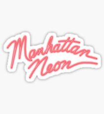 NYC Neon Sticker
