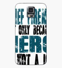 Chief Fireman Hero Case/Skin for Samsung Galaxy