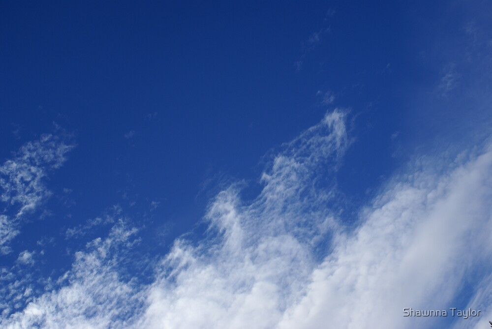 Intrusion Of The Clouds Into The Blue Sky by Shawnna Taylor
