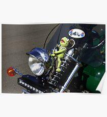 Kermit  ...  the green motorbike Poster