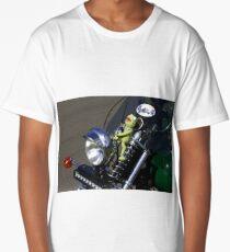 Kermit  ...  the green motorbike Long T-Shirt