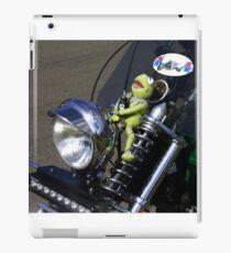 Kermit  ...  the green motorbike iPad Case/Skin