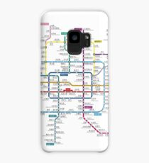 Beijing city subway metro map Case/Skin for Samsung Galaxy