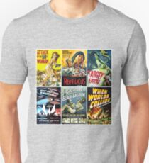 Sci-Fi Movie Poster Art Collection #1 T-Shirt