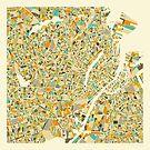 COPENHAGEN MAP by JazzberryBlue