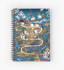 Taming The Elephant Mind Diagram Spiral Notebook