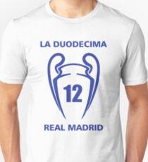 Real madrid - La Duodecima Unisex T-Shirt