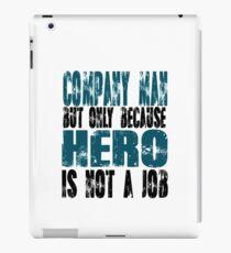 Company Man Hero iPad Case/Skin