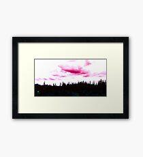 Wild Pink Nature Framed Print