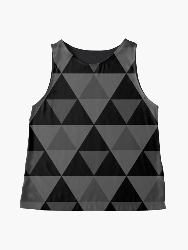 Vista alternativa de Blusa sin mangas Tri-Patrón