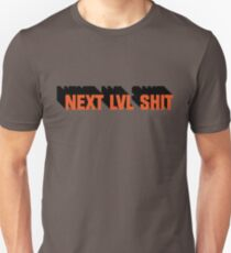 Next Level Shit Game Pc Xbox PS Gamer Gift T-Shirts Unisex T-Shirt
