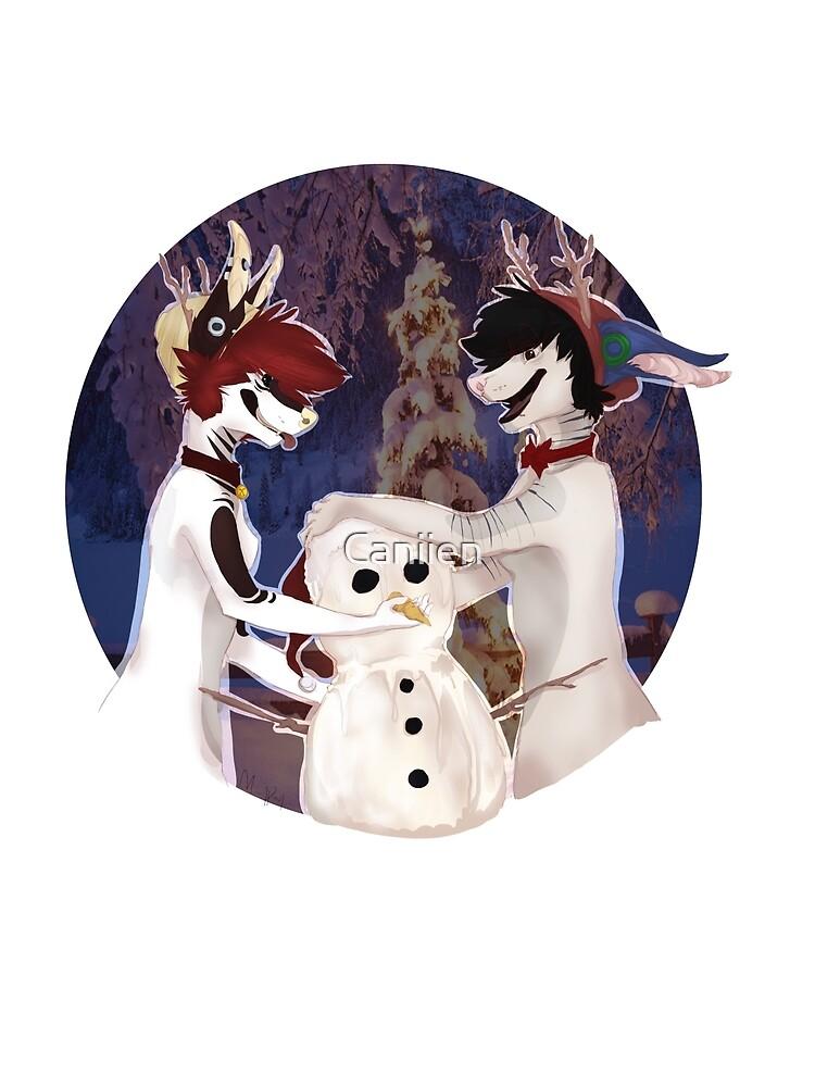 Build a Snowman! by Caniien