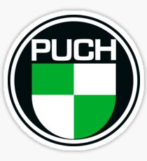 PUCH Motorcycles Italy Sticker