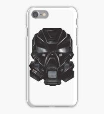 Black Metal Future Fighter Sci-fi Concept Art iPhone Case/Skin