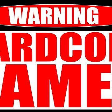 HARDCORE GAMER  by chaoskandy