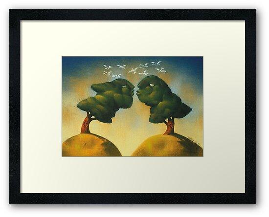 the kissing trees by jimondo