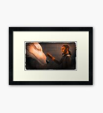 Friend of the Force Framed Print