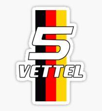 Sebastian Vettel #5 Sticker