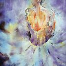 Ballerina - A Little Rest -  Ballet & Dance Art Gallery by Ballet Dance-Artist