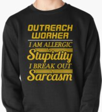 OUTREACH WORKER Pullover