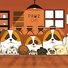 Doggy Cafe by twobees