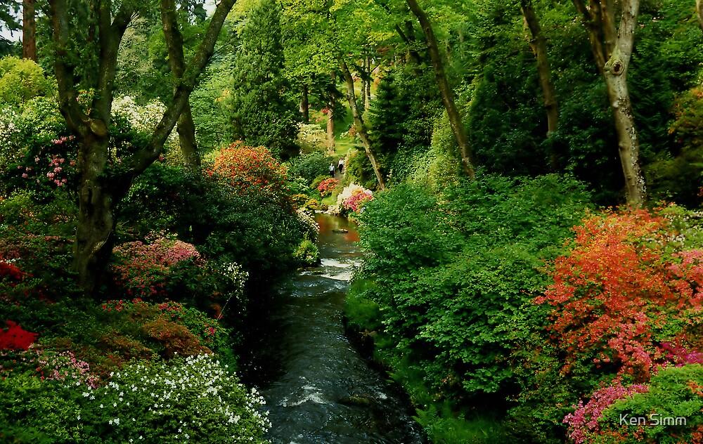 Bodnant Garden by Kenart