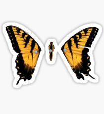 Brand New Eyes Butterfly Sticker