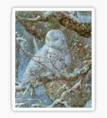 Winter Refuge Sticker