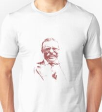 Theodore Roosevelt Laughing Unisex T-Shirt