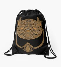 """What"" Knocker Drawstring Bag"