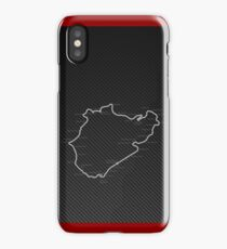 Nordschleife Carbon iPhone Case