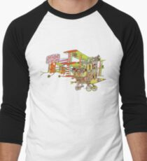 Jefferson Airplane - After Bathing at Baxter's Men's Baseball ¾ T-Shirt