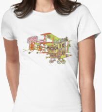 Jefferson Airplane - After Bathing at Baxter's Women's Fitted T-Shirt