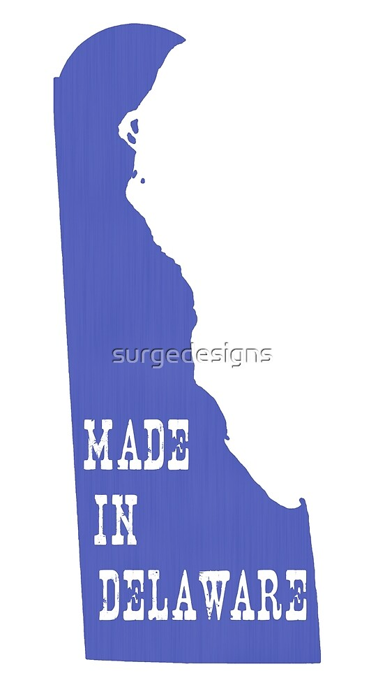 Made in Delaware by surgedesigns