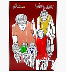 VUELTA: Vintage Cycle Racing Advertising Print Poster