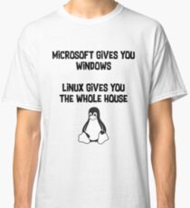 Linux and Microsoft Classic T-Shirt