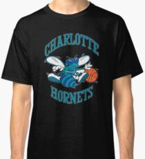 Retro Charlotte Hornets Logo Classic T-Shirt