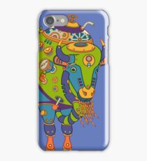Bison, from the AlphaPod collection iPhone Case/Skin