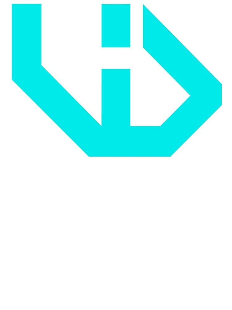 VloginDaily Logo Cyan by Scott-Marci VlogInDaily