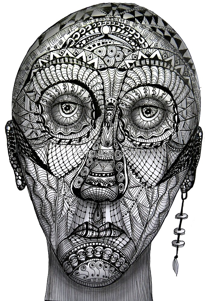 Tattoo man by Jenny Wood