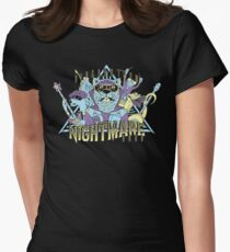 Riverbottom Nightmare Band Women's Fitted T-Shirt