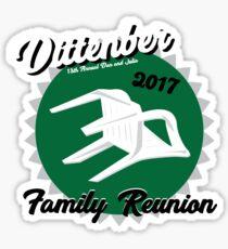 Dittenber Reunion Chair Sticker