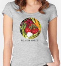 Farmers Market Women's Fitted Scoop T-Shirt
