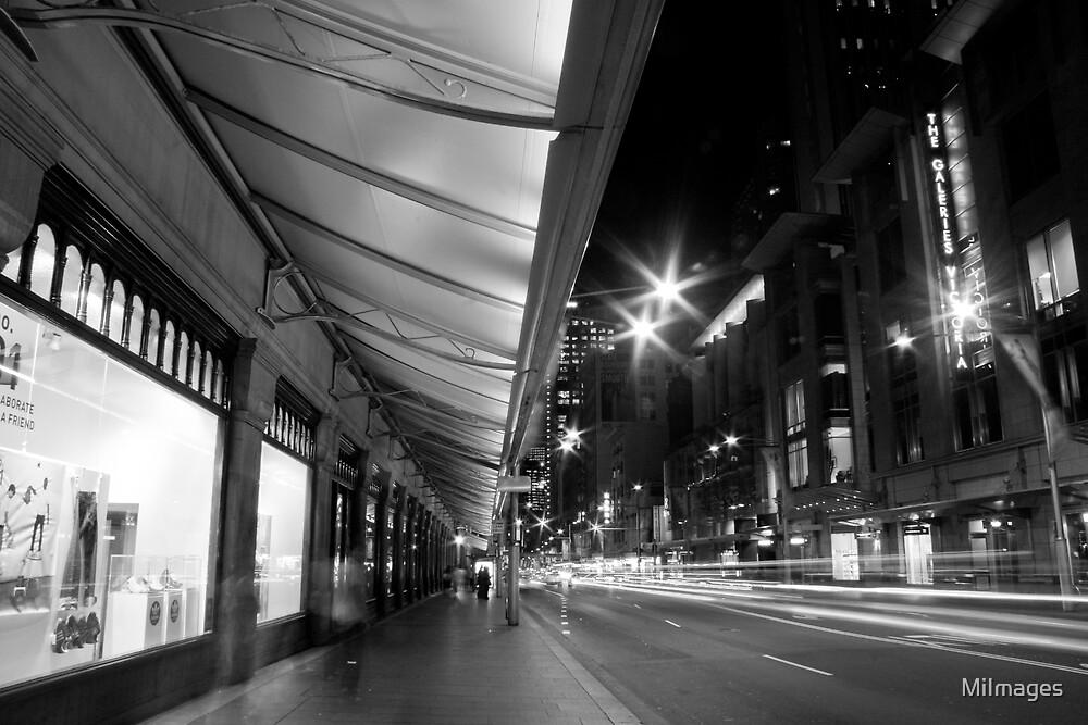 Downtown George Street Sydney B&W by MiImages