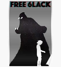 Free 6lack Poster