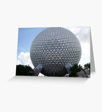 EPCOT Greeting Card